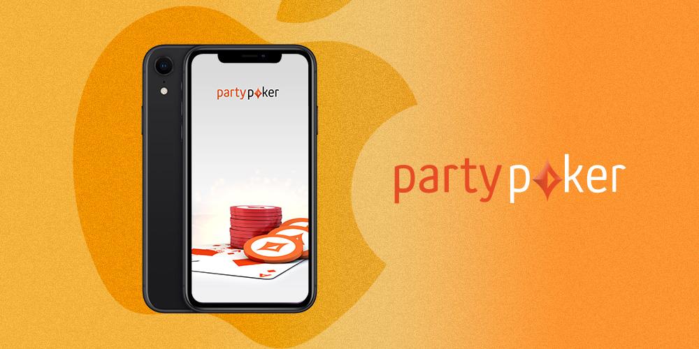 Клиент Partypoker на платформе iOS.