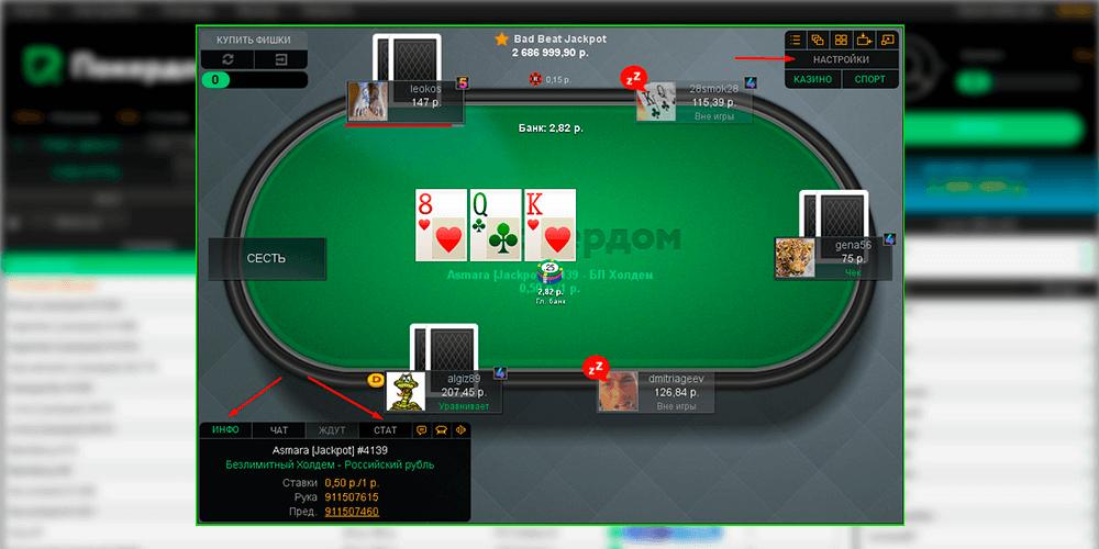 Стол Покердом