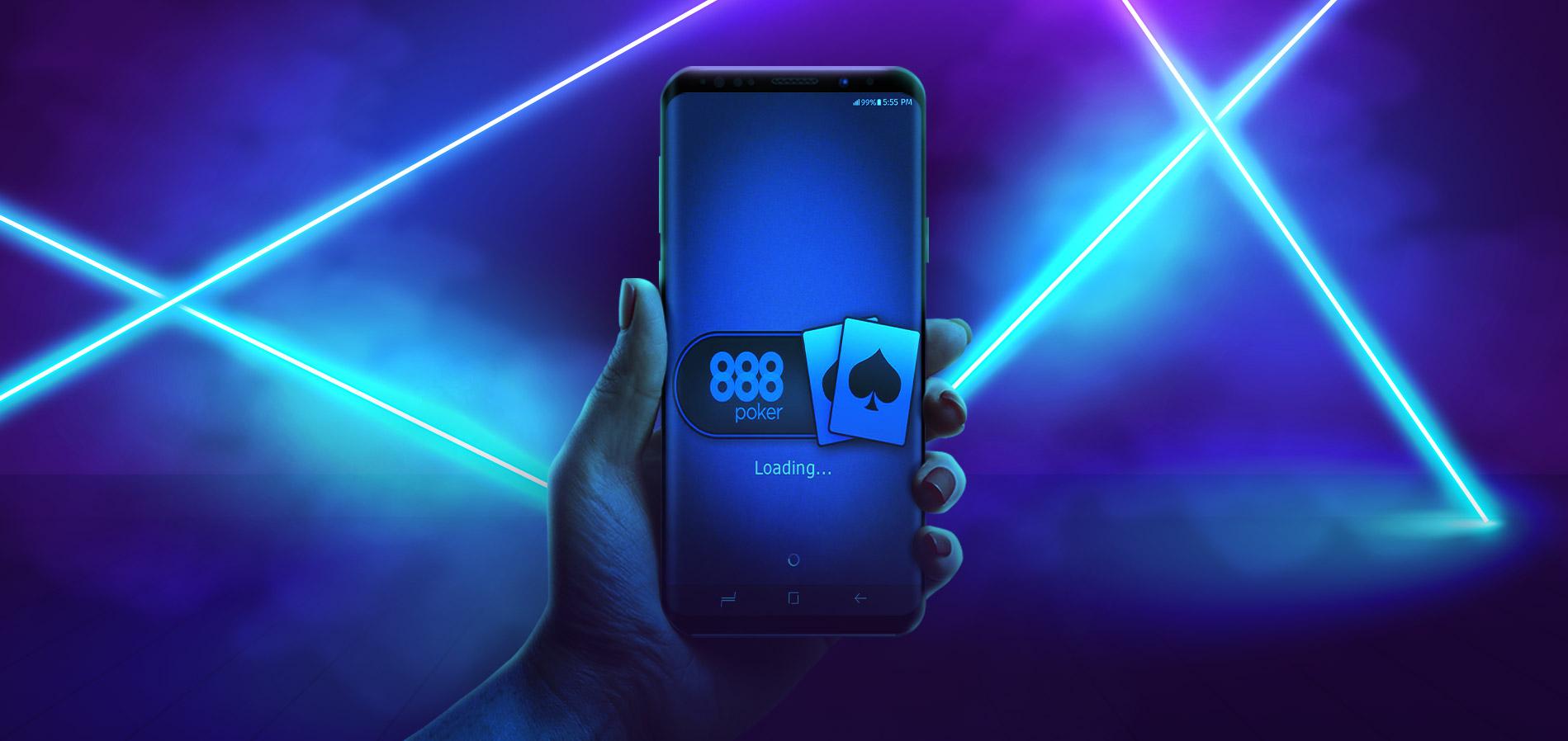 Мобильное приложение 888poker для мобильного.