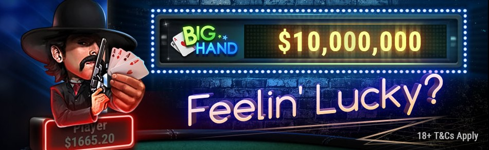 Big Hand Джекпот на GG PokerOk