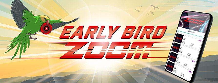 «Ранние пташки» в Zoom-покере получают в 3 раза больше баллов Stars Rewards
