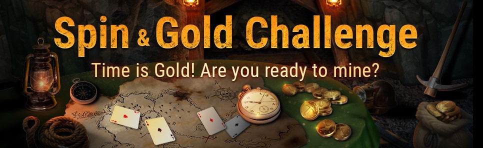 Spin & Gold Challenge: новые задания на GGPoker!
